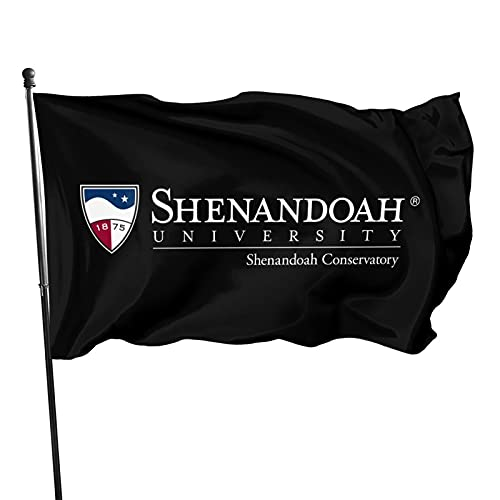 Ali Yee Shenandoah University Logo 3x5 Feet Flag Vivid Color and Uv Fade Resistant with Grommets,Outdoor Decorations Garden Farmhouse Yard Sign Banner