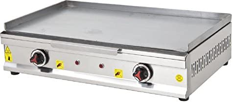 ADJUSTABLE TEMP CONTROL PROFESSIONAL ELECTRIC 28 70 cm Commercial Kitchen Countertop Flat Top product image