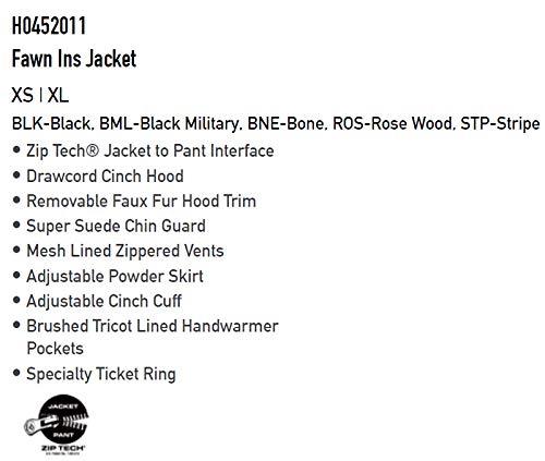 20-21VOLCOM/ボルコムFAWNINSjacketレディーススノーウェアージャケットスノーボードウェア予約商品2021XSBNE