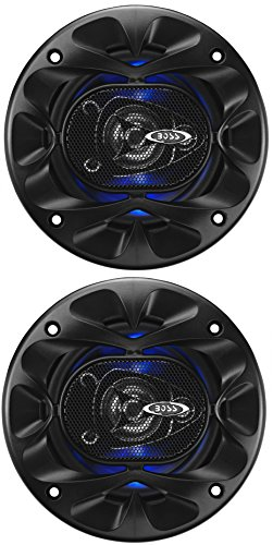 Boss Audio Systems Rage 4' 3-Way 225W Full Range Speaker De 3 vías 225W Altavoz Audio - Altavoces para Coche (De 3 vías, 225 W, 4 Ω, 90 dB, 100-18000 Hz, 1,75 cm)