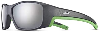 Julbo - J5262320 Gafas, Unisex bebé, Gris Fonce/Vert, 6-10 Years