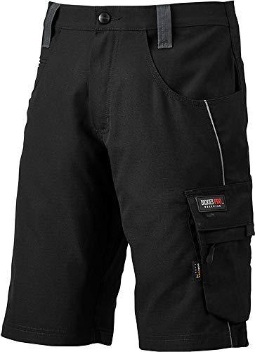 Dickies PRO Shorts, Arbeitsshorts mit Cordura Verstärkungen (Schwarz, 52)