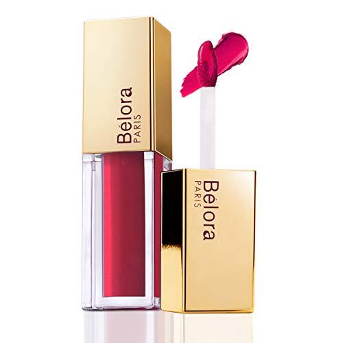 Belora Paris Long Stay Matte Liquid Lipstick I Leave No Evidence - Transferproof I Vegan I Paraben free (Dragon's Pink)