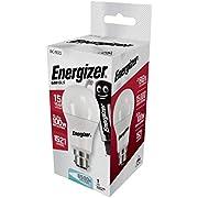 3 x Energizer Led 13.2w = 100w 6500k Daylight White Bayonet Cap Fitting High Tech Energy Saving Light Bulbs