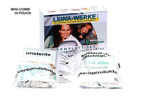 Leina-Werke 12013 Komplett-Set DIN 13164 in Folientasche Mini-Kombitasche