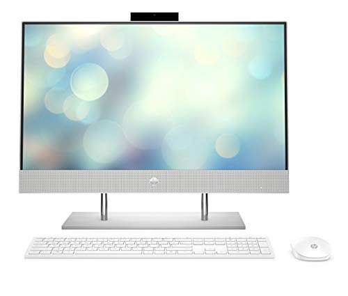 HP Pavilion 24 k0020ng 238 Zoll Full HD Touch All in One PC Intel Core i7 10700T 16GB DDR4 RAM 1TB HDD 1TB SSD Nvidia GeForce GTX1650 4GB Windows 10 weis