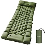 Best Backpacking Sleeping Pads - FRETREE Camping Air Sleeping Pad Mat - Foot Review