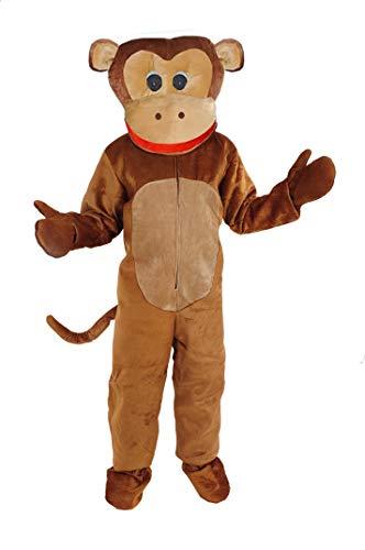 Affe Kostüm Einheitsgrösse L-XL Fasching Karneval Motto Party Tierkostüm Gorilla