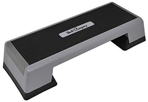 Bad Company Aerobic Stepper für das Homegym | 3-Fach höhenverstellbares Steppbrett | rutschsichere Trittfläche