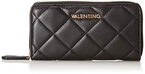 Mario Valentino Valentino by Damen Ocarina Geldbörse, Schwarz (nero), 2.5x10x19 cm