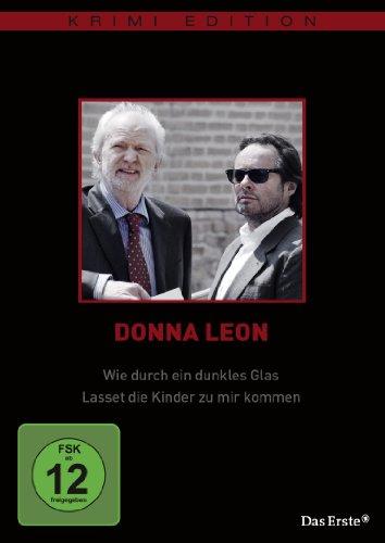 Donna Leon - Wie durch ein dunkles Glas / Lasset die Kinder zu mir kommen (Krimi-Edition)