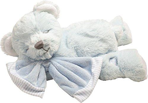 Suki Gifts Hug-a-Boo Bear Peluche, 10092, Bleu Musical