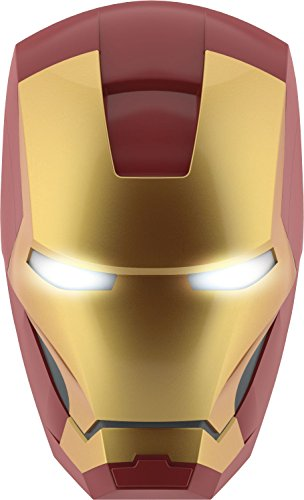 Philips Marvel Iron Man LED Wandleuchte 3D, gold, 915005309201