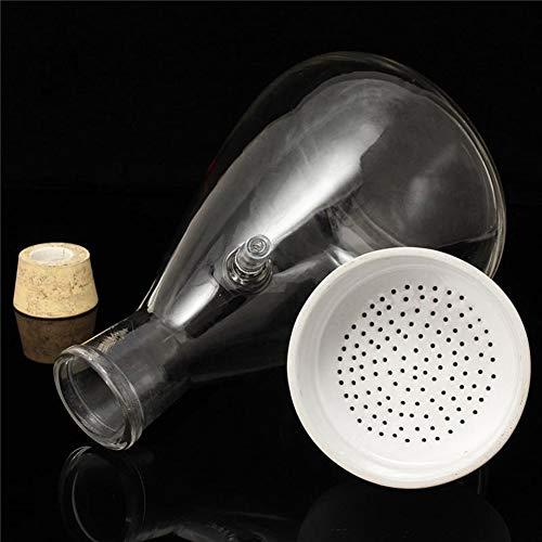 Zuigglas Flask Apparatus 2500mL trechter Kit Stofzuiger, Niet gemakkelijk te breken, Brede toepassing