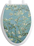 RNK Shops Almond Blossoms (Van Gogh) Toilet Seat Decal - Elongated