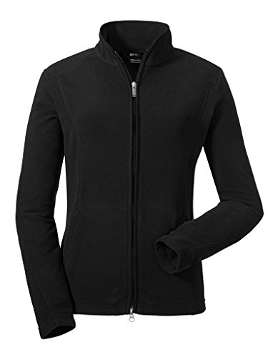Schöffel Damen Fleece Jacket Leona Synthetisch, Black, 42