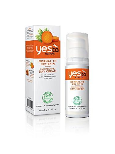 Yes to Carrots Crème de Jour Hydratante Riche 50 ml