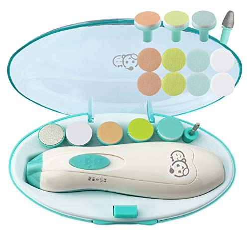 Baby Nail Clippers 20 in 1 by Royal Angels | Safe Electric Baby Nail...