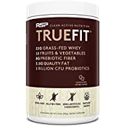 RSP TrueFit - Lean Meal Replacement Protein Shake with Fiber & Probiotics from Essential Real Whole Foods, 2 Pound Protein Powder for Men & Women
