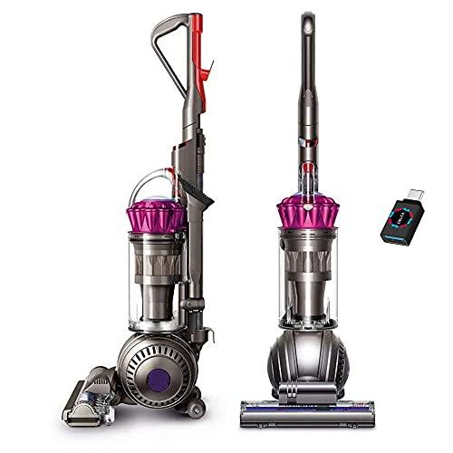 Premium Dyson Ball Multi Floor Origin Upright Vacuum Cleaner I HEPA Filter I Height Adjustment I Strong Suction I Telescopic Handle I Self Propelled I Rotating Brushes I Fuchsia + USB-C Adapter