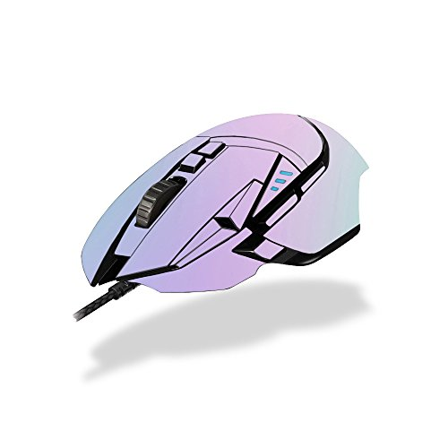 MightySkins Skin Compatible with Logitech G502 Proteus Spectrum Gaming Mouse - Cotton Candy | Protective, Durable, and Unique Vinyl wrap Cover | Easy to Apply, Remove | Made in The USA