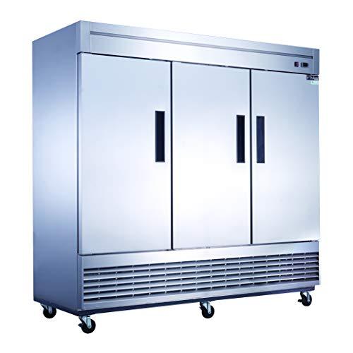 Dukers D83RF Bottom Mount Three Door Refrigerator and Freezer