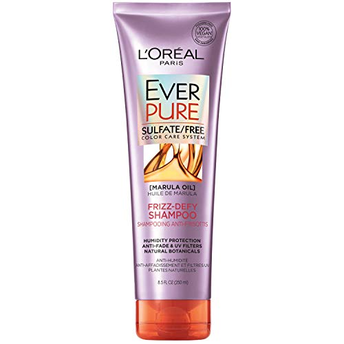 L'Oreal Paris EverPure Frizz Defy Shampoo, 8.5 Ounce, 250 ml