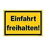 kleberio® – Mantener la Entrada Libre. - Cartel de Advertencia de plástico
