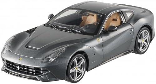 Hot Wheels Ferrari F12 Berlinetta 1 18 anthrazit metallic Modellauto