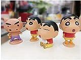 Kids Figuras de acción Kits de construcción de Modelos Anime Toy Set de 4 niños Regalos de niños y Anime Kits de Modelos de Juguetes
