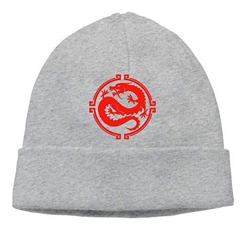 Lsjuee Smite Chinesisches Pantheon Symbol Unisex Strick Mütze
