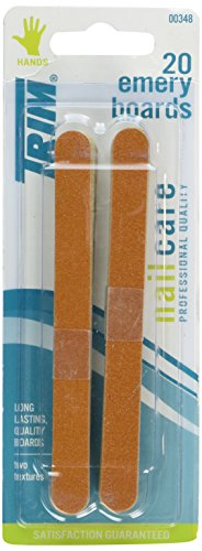 Trim Nailcare 00348 Emery Boards, 20 Count