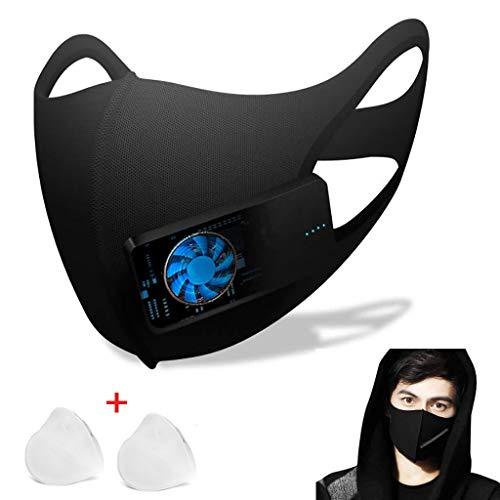 ZJM Filtros faciales de carbón Activado, Mangas eléctricas de protec