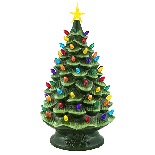 Mr. Christmas Nostalgic Christmas Tree 24'-Green Holiday Decoration, One Size