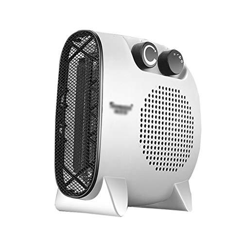 SHENXINCI Mini Ventilador Calefactor Estufa, Portátil Handy Heater Comfort Compact Calefactor,función Silence, 2 Velocidades, Fácil de Transportar, Función Silence PTC Cerámicos Heating Fan