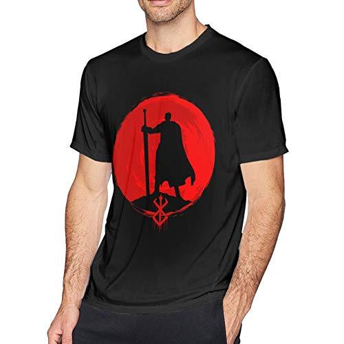 Anime & Berserk Guts Classic Short Sleeve T Shirts for Men XL