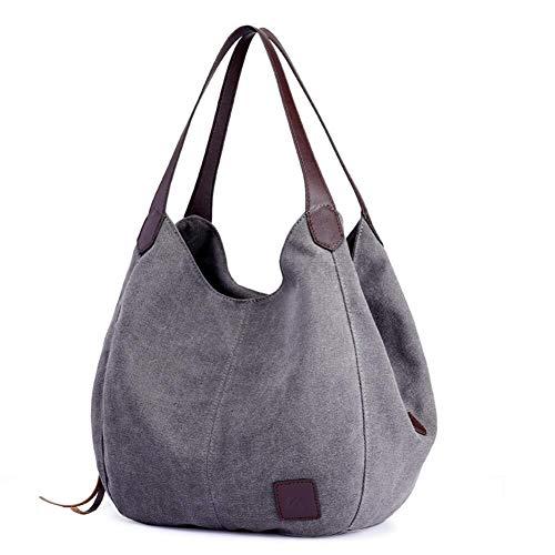 Handtassen Voor Dames Canvas Schoudertas Lichtgewicht Cross Body Bag Grote Capaciteit Tas Mode Messenger Tas Hobos Designer Handtassen Reizen Tassen