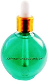 Aceite para cutículas de uñas de coco, 75ml, tamaño profesional