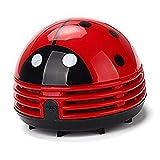 Ladybug Vacuum Cleaner - Mini Vacuum Cleaner Portable Corner Desk Vacuum Cleaner Mini Cute Vacuum Cleaner Dust Sweeper 1Pcs