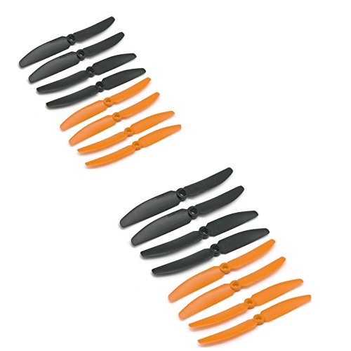 Hensych 16 pcs 8 pairs GemFan HD HQ 5030 5x3 CW CCW Propeller for Mini QAV250 Quadcopter