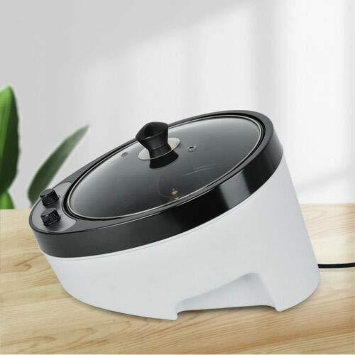 Aohuada Kaffeeröster Kaffeebohnen Bratmaschine Kaffeebohnen Röster Haushalt Edelstahl elektrischer Kaffeeröster - 220V/ 1200W