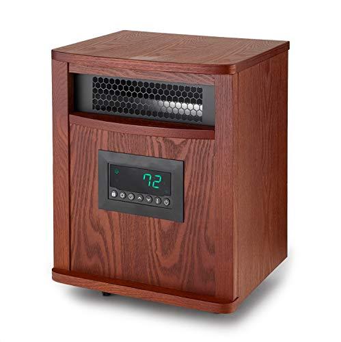 smart for life heaters Lifesmart Smart Boost 6 Element 1500W Portable Infrared Quartz Mica Indoor Room Space Heater
