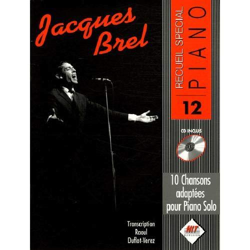 Jacques brel (special piano)