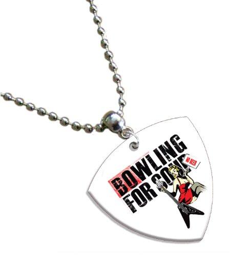Bowling for Soup Bass Pick Kette Band Plektron