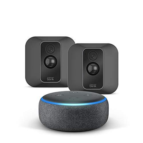 Nouvelle Blink XT2 Système à 2 caméras + Echo Dot (3rd Gen),...