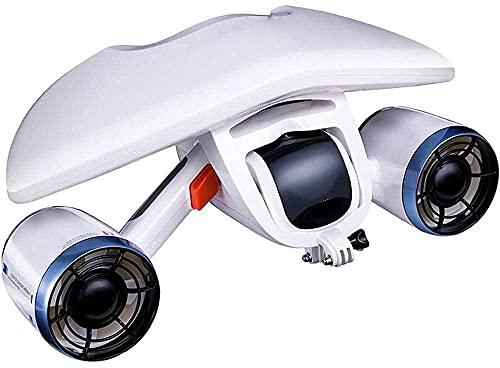 Onderwaterbooster, Duikpropeller Zwemmen Snorkelen, Draagbare scooter 40 meter diep 40 minuten looptijd, ondersteuning onderwatercamera, draagbare onderwaterboegschroef BJY969