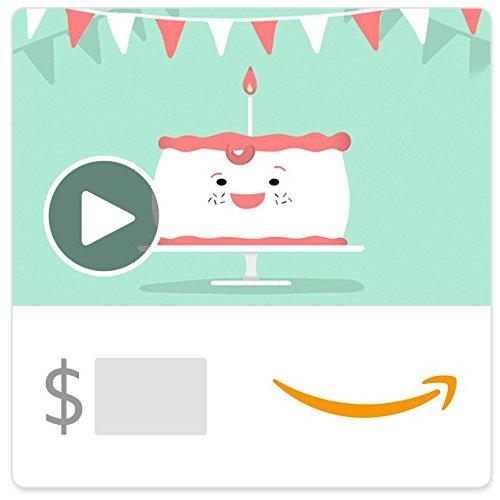 Amazon eGift Card - Birthday Suit (Animated)