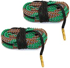 Westlake Market Bore Snake - 2 Pack 40 Caliber Quality Gun/Pistol Bore Cleaning Snake - Simplifies Cleaning - Sold in America, Ships from America