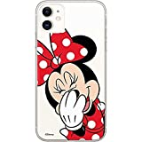 ERT Group Original Disney Coque de Protection pour Minnie 006 iPhone 11 Multicolore