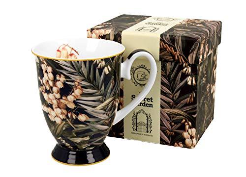 Duo Colección Secret Garden Royal Yucca de porcelana china, 325 ml, en caja de regalo